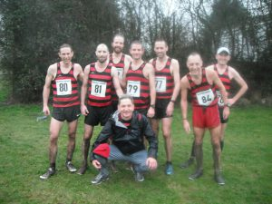 The winning SEAA XC Champs M40 squad 10-12-2016