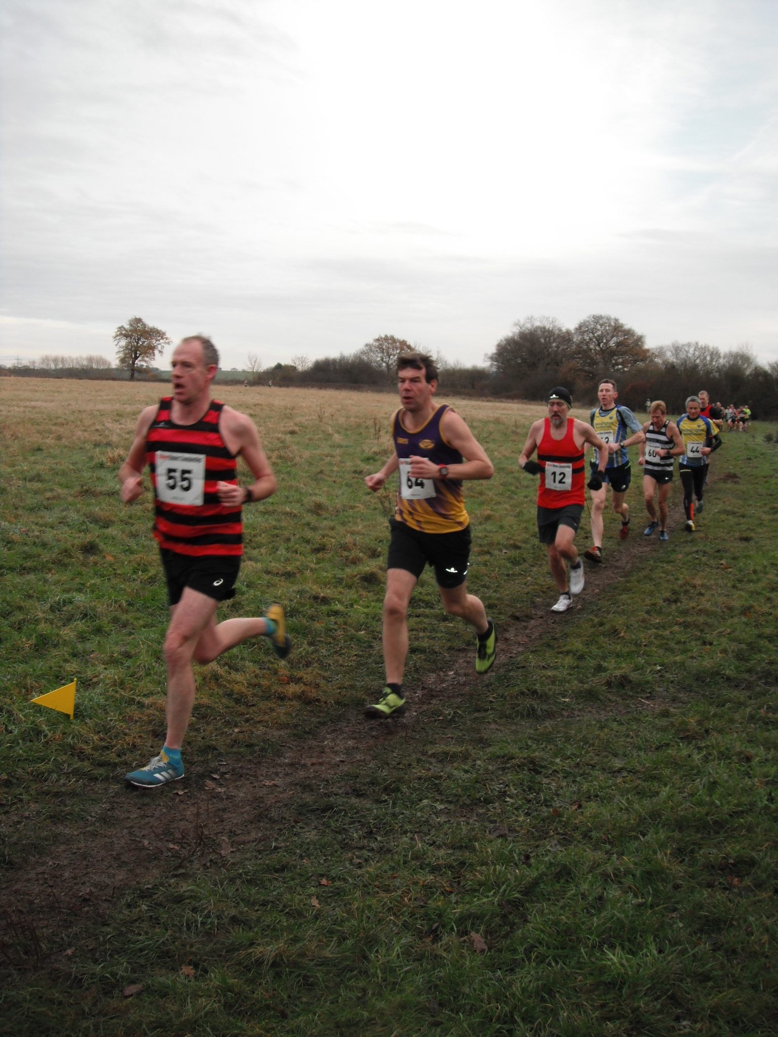 Herne Hill Harriers | On a Cold and Frosty Day, HHH had M45
